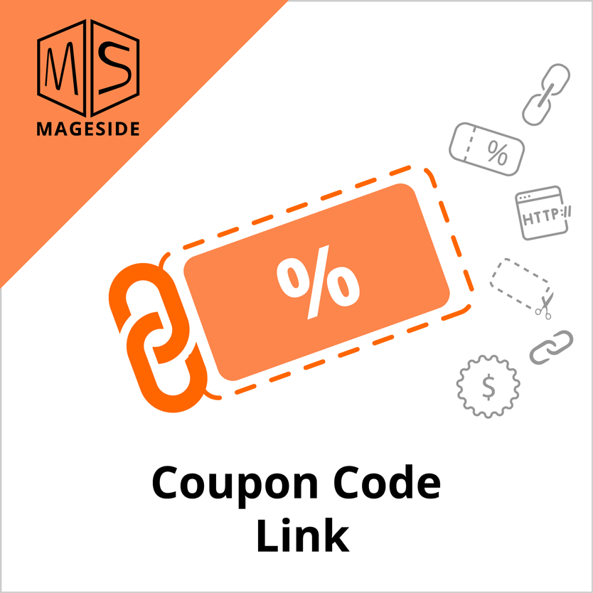 Coupon Code Link Module Magento 2 by Mageside