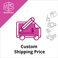 Custom Shipping Price