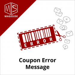 Coupon Error Message