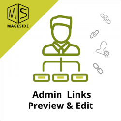 Admin Links Preview and Edit