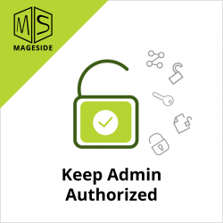 Keep Admin Authorized