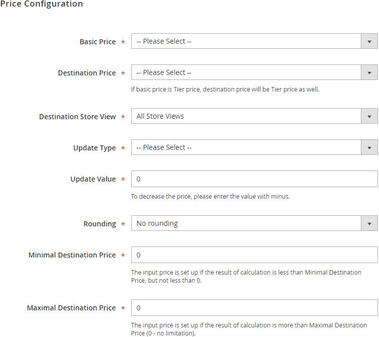 Bulk Price Updater for Magento 2