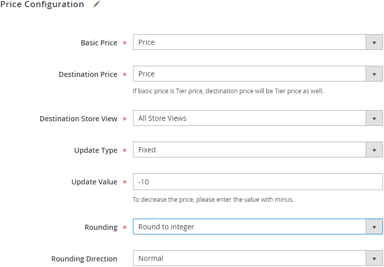 Bulk Price Updater