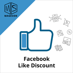 Facebook Like Discount extension icon