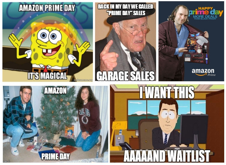 memes about Prime Day