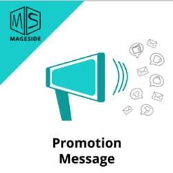 Promotion message